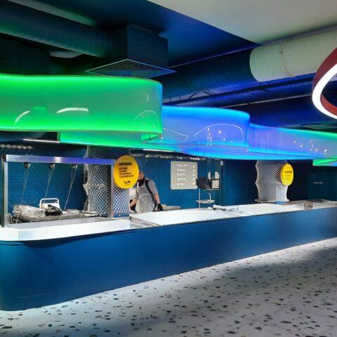 Разработали и изготовили световую инсталляцию с применением современных светодиодных технологий